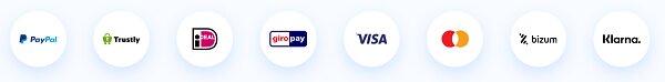 métodos de pago de la pasarela de pagos PayComet