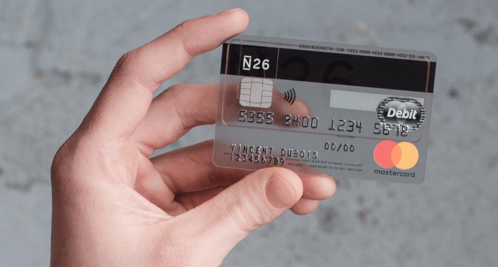 Tarjeta de débito N26