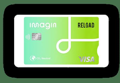 Tarjeta Reload de Imagin Bank