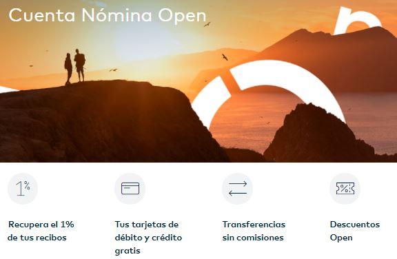 Ventajas de la cuenta nómina de Openbank